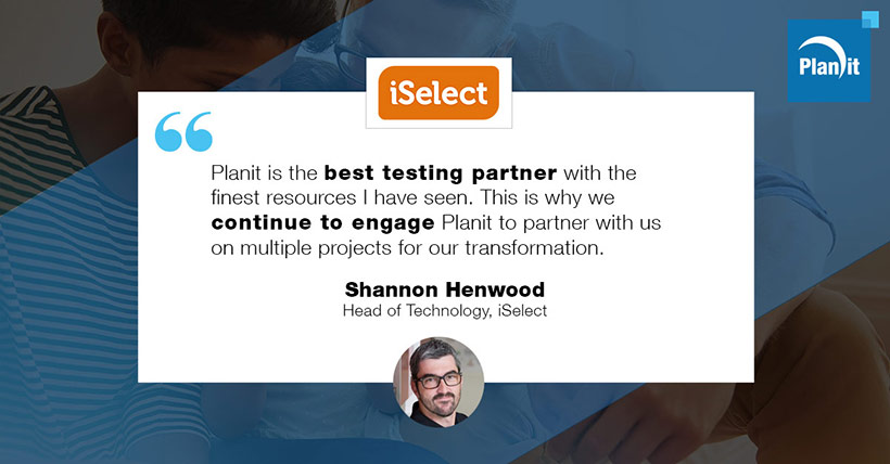 Shannon Henwood, Head of Technology, iSelect