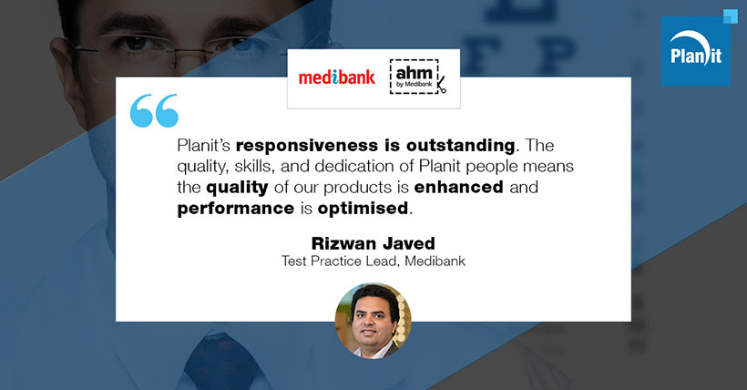 Rizwan Javed, Test Practice Lead, Medibank