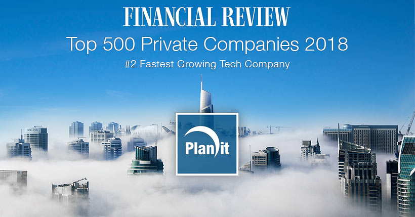 Ranked at #396, Planit showed a 18.1% increase in revenue from 2017 to climb 65 positions.