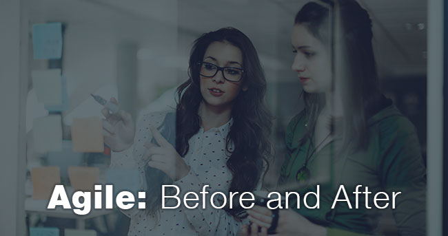 Agile: Before and After