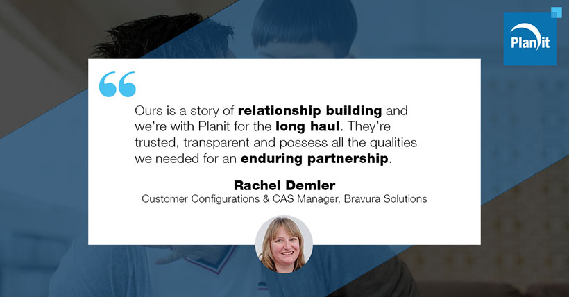 Rachel Demler, Customer Configurations and CAS Manager, Bravura Solutions
