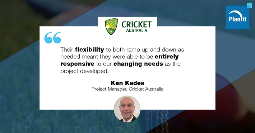 Ken Kades, Project Manager, Cricket Australia