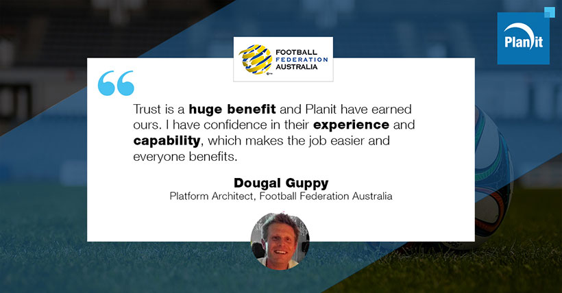 Dougal Guppy, Platform Architect, Football Federation Australia