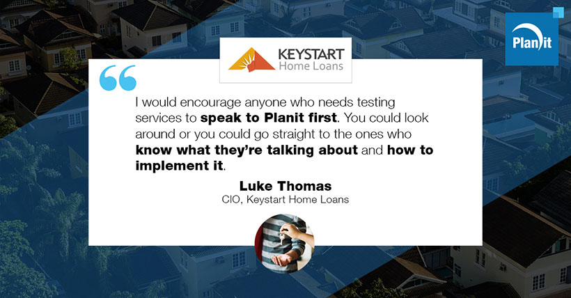 Luke Thomas, CIO, Keystart Home Loans