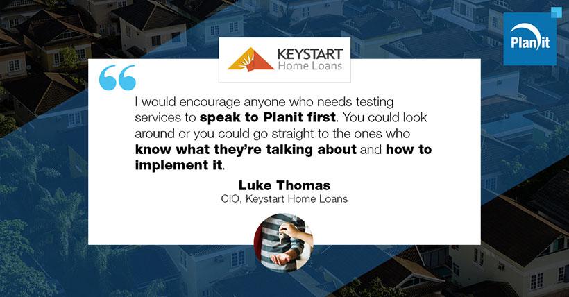 Luke Thomas, CIO, Keystart Home Loans