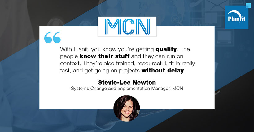 Stevie-Lee Newton, Systems Change and Implementation Manager, Multi Channel Network (MCN)