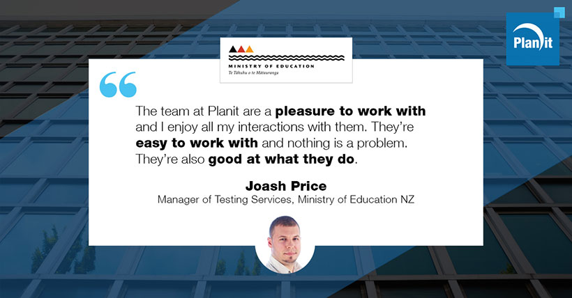 Joash Price, Manager of Testing Services, Ministry of Education