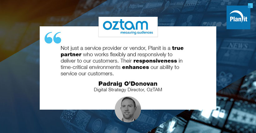 Padraig O'Donovan, Digital Strategy Director, OzTAM