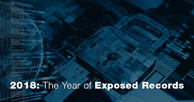 2018: The Year of Exposed Records