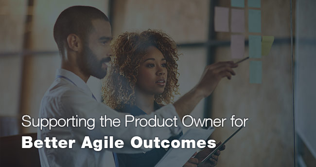 Supporting the Product Owner for Better Agile Outcomes
