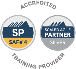 Accredited Scaled Agile SAFe 4 Training Provider and Accredited Scaled Agile Partner Silver Training Provider